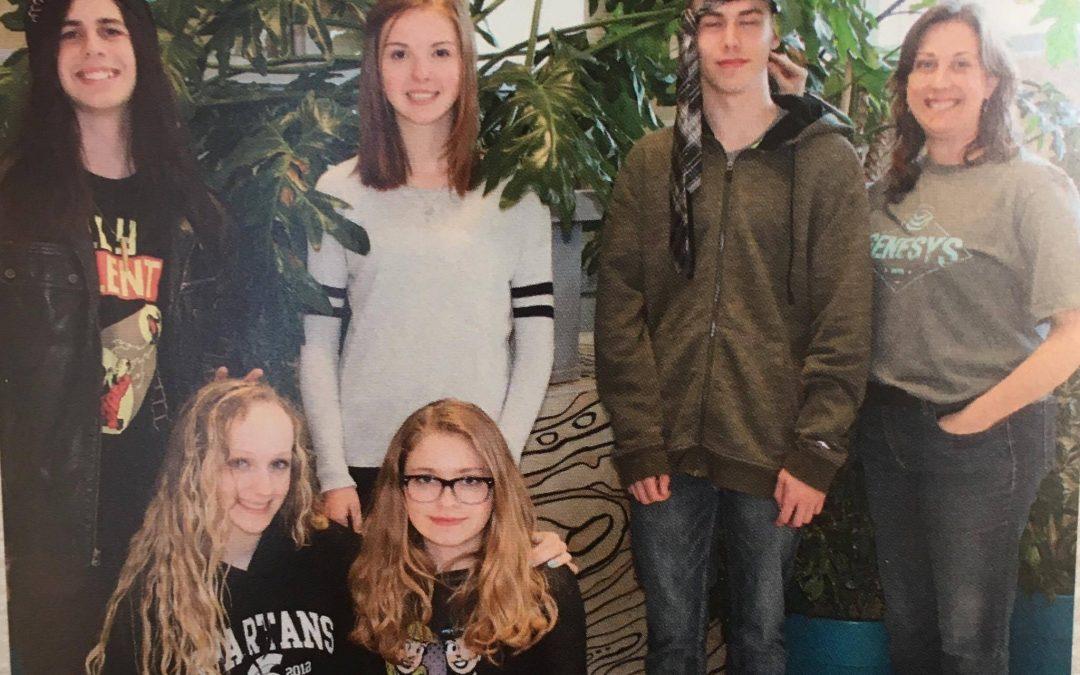 Vegan teen animal rights club