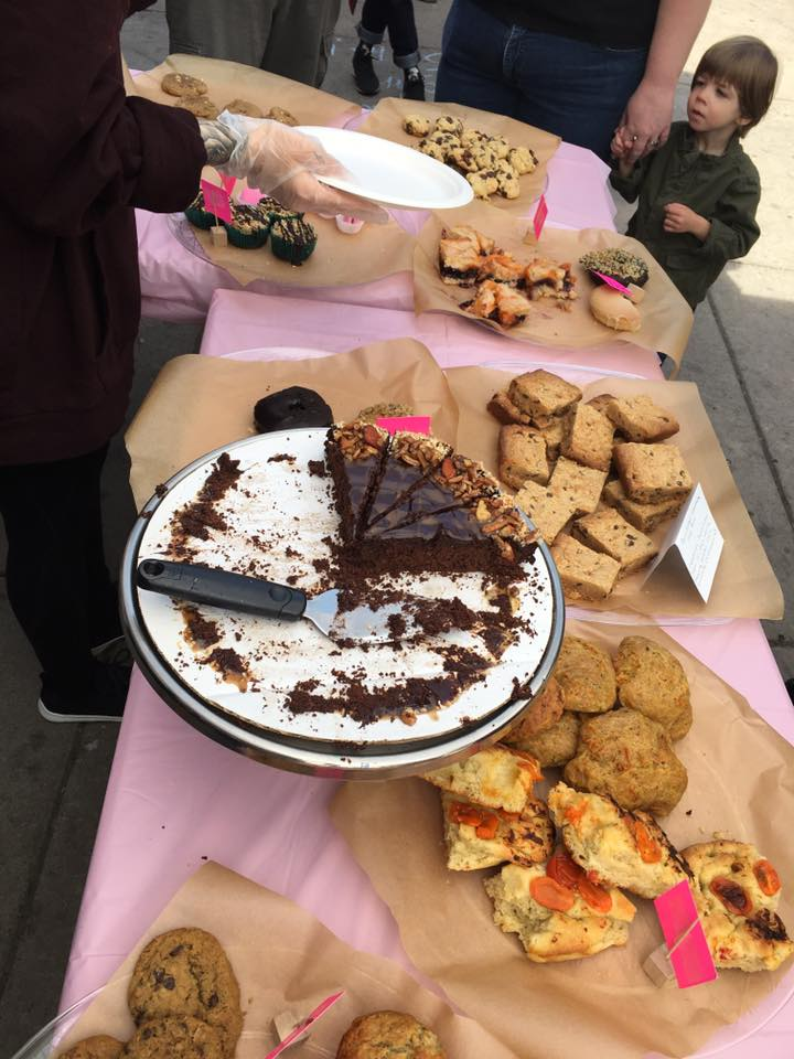 vegan bake sale